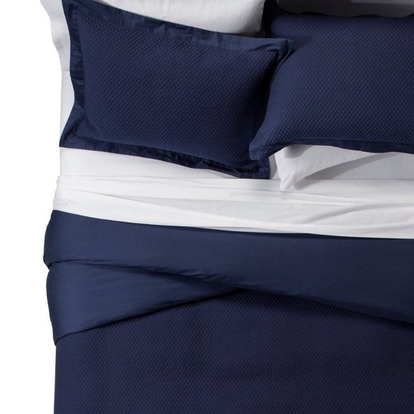 Fieldcrest Matelasse Luxury Duvet Set Full/Queen